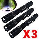 3X Garberiel 5-mode Tactical 18650 LED Flashlight Military Zoom Torch Light Lamp