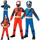 Child POWER RANGER Ninja Steel Blue Red Superhero Licensed Fancy Dress Costume <br/> ✅ Fast, Free &amp; Secured Tracked Shipping ✅ Quality item