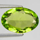 1.52 CTS  FINE QUALITY PARROT GREEN NATURAL PERIDOT GEMSTONE FROM PAKSITAN