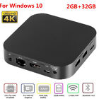 Pocket 4K Mini PC x5-Z8350 Quad Core 2GB+32GB WiFi BT4.0 HDMI For Windows 10