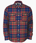 Dickies Annandale Hemd Regular Fit Long Sleeve Shirt Waffel Lined navy blau blue
