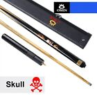 2018 NEW OMIN Skull Billiards 3/4 Snooker Cue 10mm Tip with Snooker Cue Case.... $1077.03 CAD on eBay