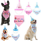 US Birthday Hat Scarf For Dog Cat Puppy Party Costumes Pets Headwear Accessory
