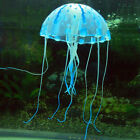 Glowing Effect Artificial Jellyfish Ornament Fish Tank Aquarium Decoration EK