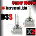 2x D3S HID Xenon OEM Factory replacement bulbs Aluminium Color 5000K 6000K UK