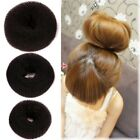 Women Doughnut Hair Ring Bun Tie Beauty Hair Care Styling Tool Accessories New