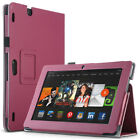 """ULAK Kindle Fire HDX 8.9"""" 2013 Case, Magnetic Folio PU Leather Case Stand Cover"""