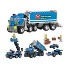 Dumper Truck Toy For Kids Children Building Blocks Educational Play 163 Pieces