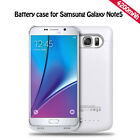 USB Recharge Battery Case Power Portable Charger Bank cable For Samsung Note 5