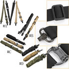 Tactical 1- 2 Point Rifle Sling System Strap Hunting Bungee Quick Release Detach