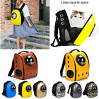 Pet Cat Dog Puppy Carrier Outdoor Travel Bag Space Capsule Backpack Breathable