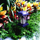 Solar Power Garden Landscape Lamp Candle Effect Intelligent Control Night Light