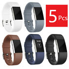 USB Power Charger & Screen Protector & Watchband Replacement For Fitbit Charge 2