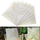 20Pcs Romantic Wedding Party Invitation Cards Laser Cut Carved Invitations C1N4
