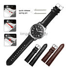 Crocodile Leather Wrist Watch Band Strap For Fossil Q Smart Watch Quick Release