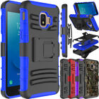 For Samsung Galaxy J2 Core Hybrid Clip Holster Stand Defender Armor Case Cover