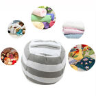 Novel Plush Animal Storage Canvas Bean Bag Chair Relax Sofa Kid Toy Organizer US