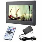 """7/10/15""""LED HD High Resolution Digital Picture Photo Frame + Remote Controlle 4W"""