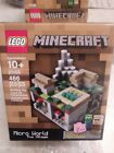 Retired Lego Minecragt 21105 Micro-monde La Village Pig And Zombie New  Sealed