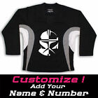 Clone Trooper Star Wars Graphic On Hockey Practice Jersey Name  Number too