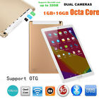 10.1In Quad-Core 1+16G Android 6.0 Dual Sim Dual Camera Phone 3G Wifi Tablet PC