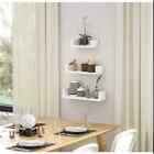 Solid Wood Intersecting Wall Shelf Vintage Pine Storage Display Shelves Decor