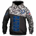INDIANAPOLIS COLTS Hoodie Zip Up Hooded Pullover S-5XL Football Team Fans NEW on eBay