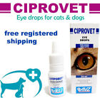 Внешний вид - EYE DROPS FOR DOGS AND CATS CIPROVET  ANTI-INFLAMMATORY