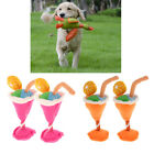 Dog Birthday Toy Set Cup Ice Cream Puppy Chew Toy Pug Squeaker Toy