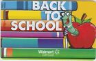 Walmart Back to School / Teachers Gift Cards - No Value - Pick Your Favorite!