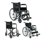 3 Type Lightweight Aluminium Steel Folding Travel Wheelchair