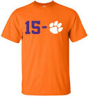 Clemson Tigers 2018 2019 National Champions 15-0 T-Shirt  image