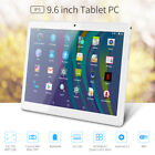 9.6 Inch Android 5.1 Tablet PC 2-in-1 Call Phone Phablet Quad Core 2 Sims Cams