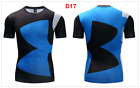 GYM 3D Print T-shirt Men Superhero Superman Marvel Panther Fitness Cycling Tops <br/> Professional Production, Printed T-shirt,Can Customize!