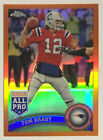 Tom Brady 2011 Topps Chrome All Pro Retail Orange Refractor #20 (RARE)