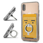 Ringke [Ring Slot] Card Holder 3M Adhesive Phone Wallet Pouch with Finger Stand