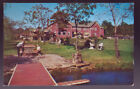 SCOTRUN PENNSULVANIA PA 1964 Brookdale on the Lake Poconos Main Lodge Postcard