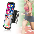 Running Gym Wristband Phone Holder with Reflective Strip for i Phone Xs Max