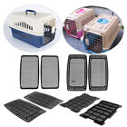Blesiya 2x Pet Dog Carrier Crate Mat Airline Transporter Travel Cage Grid Plate