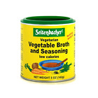 Seitenbacher Vegetarian Vegetable Broth and Seasoning, 5-Ounce Cans Pack of 6