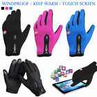 Thermal Cycling Gloves Water Resistant Touch Screen glove Outdoor Sports Adult