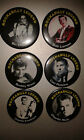 'Rockabilly Legends' fridge magnets 58mm 99p each - rock'n'roll '50s