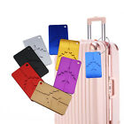 Metal Travel Luggage Tags Suitcase Baggage Label Name Address ID Holder