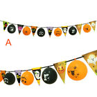 Happy Halloween Party Spooky Bunting Decoration Ghost Pennants Balloon