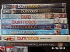 Burn Notuce DVDs seasons 1 - 7 plus the Fall of Sam Axe, vg to sealed