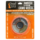DEAD DOWN WIND 1201 DDW CAMO FACE PAINT AMBUSH 5-COLOR WHEEL W/MIRROR