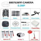 8807 8807W Drone RC Quadcopter with Camera VR glasses 3D Selfie Foldable Mini