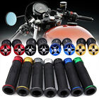 "MOTORCYCLE 7/8"" HAND GRIPS HANDLE BAR GEL FOR KAWASAKI SUZUKI HONDA CBR600RR KTM $8.96 USD on eBay"