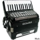 Excalibur Super Classic 24 Bass Piano Accordion Black Polish