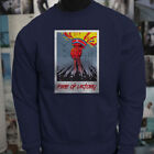 FIRE OF VICTORY USAF GUNS FIGHT FREEDOM REBEL Mens Navy Sweatshirt $27.99 USD on eBay